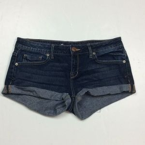 Aeropostale Shorty Ladies Distressed Shorts Sz 4